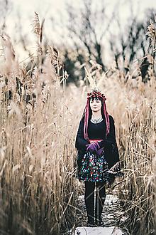 Sukne - PECKA černá folklorní - 11234169_
