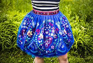 Sukne - PECKA modrá májová - 11234266_