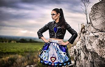 Sukne - PECKA tmavě modrá vlčí - 11234369_