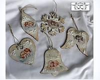 """Dekorácie - Vianočné ozdoby """"Vintage angels"""" :) - 11234649_"""