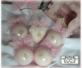 Dekorácie - Shabby roses-vianočny set :) - 11234592_