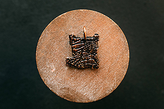 Náhrdelníky - Prívesok cestičky červotoču III. - 11234718_