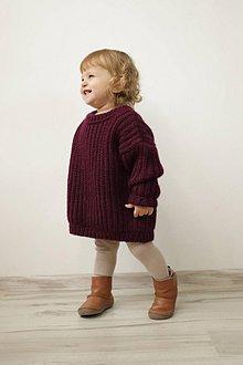 Detské oblečenie - Detský sveter Good Winter Times - 11232357_