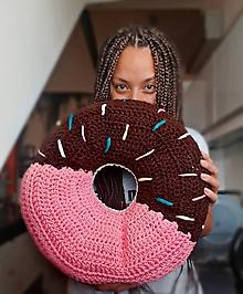 Úžitkový textil - Donut vankúš - 11231809_