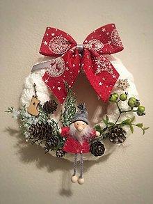 Dekorácie - Vianočný veniec - 11234319_