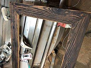 Zrkadlá - Zrkadlá / rámy zo stodolového dreva - 11232629_