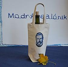 """Iné tašky - Taška na víno/darčeková taška """"Najväčší Slovák - Ludevít"""" - 11232311_"""