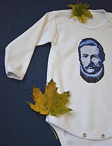 """Detské oblečenie - Detské body """"Najväčší Slovák - Ludevít"""" - 11233040_"""