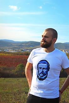 """Tričká - Pánske tričko """"Najväčší Slovák - Ludevít"""" - 11233428_"""