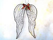 Dekorácie - anjelské krídla * 21cm - 11233053_