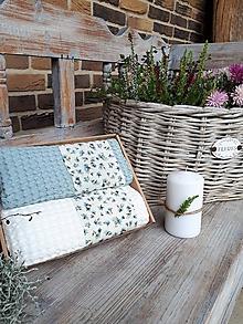 Úžitkový textil - Sada uterákov Cottage Blue - 11234798_