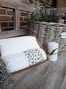 Úžitkový textil - Sada uterákov Cottage White - 11234811_