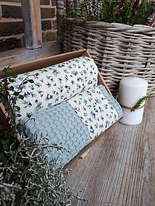 Úžitkový textil - Darčeková sada Cottage Blue - 11234831_