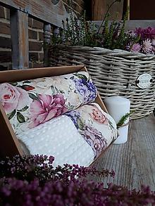 Úžitkový textil - Darčeková sada Roses - 11234836_