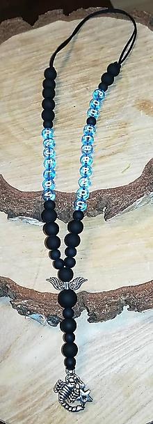 Iné šperky - Prívesok alebo amulet do auta čierny so škorpiónom   na želanie s textom menom alebo dátumom aj farebne podla vašeho pri - 11238477_