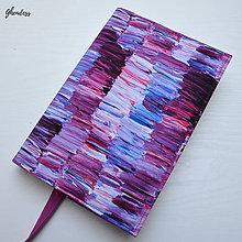 Papiernictvo - Univerzální obal na knihu - Paint Impresion Crocus - 11238137_