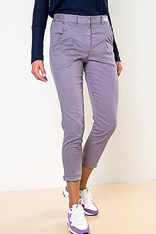 Nohavice - NOHAVICE CHINOS PURPLE - 11238800_