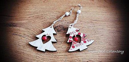 Galantéria - Vianočný výlisok s Rolničkou (Stromček) - 11237103_