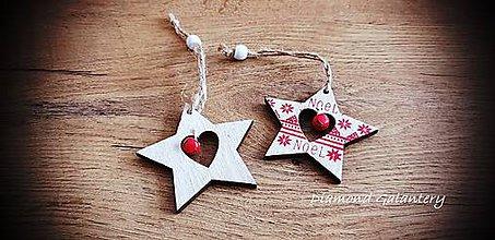Galantéria - Vianočný výlisok s Rolničkou (Hviezdička) - 11237105_