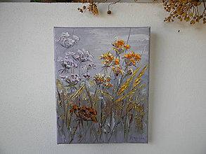 Obrazy - Zlatisté trávy - 11235708_