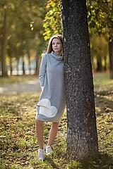 """Detské oblečenie - Teplákové šaty/tunika """"mama a dcéra"""" Haiax - 11236689_"""