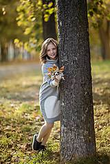 """Detské oblečenie - Teplákové šaty/tunika """"mama a dcéra"""" Haiax - 11236690_"""