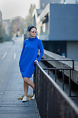 Šaty - Dámske teplákové šaty Mer - 11236776_