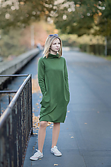 Šaty - Dámske teplákové šaty Herinn - 11236824_
