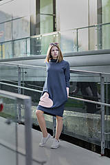 "Detské oblečenie - Teplákové šaty ""mama a dcéra"" ♥ Lorelei jeans - 11236933_"