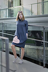 "Detské oblečenie - Teplákové šaty ""mama a dcéra"" ♥ Lorelei jeans - 11236939_"