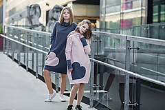 "Detské oblečenie - Teplákové šaty ""mama a dcéra"" ♥ Lorelei jeans - 11236950_"