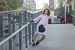 """Detské oblečenie - Teplákové šaty """"mama a dcéra"""" ♥ Lorelei - 11236998_"""