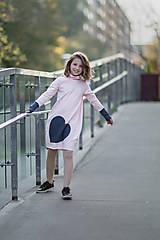 """Detské oblečenie - Teplákové šaty """"mama a dcéra"""" ♥ Lorelei - 11237003_"""