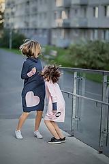 """Detské oblečenie - Teplákové šaty """"mama a dcéra"""" ♥ Lorelei - 11237012_"""