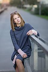 "Detské oblečenie - Teplákové šaty ""mama a dcéra"" ♥ Lorelei jeans - 11237023_"