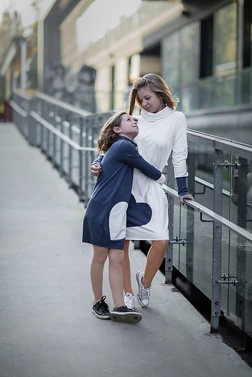 """Teplákové šaty """"mama a dcéra"""" ♥ Glace jeans"""