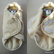 Textil - VLNIENKA Fusak do kočíka zo 100% ovčej vlny MERINO top super wash ARTCIC - 11235671_