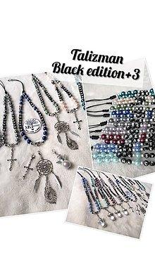 Iné šperky - Talizman Black edition+3 (Olivový) - 11236953_