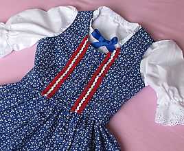Detské oblečenie - bavlnený dievčenský lajblík - živôtik ku kroju - 11237641_
