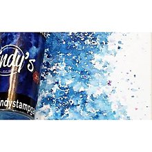 Farby-laky - Lindy's Stamp Gang Bavarian Blue Magical Shake - 11235748_