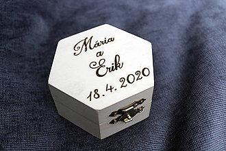 Prstene - Krabička na prstene - 11236629_