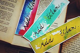 """Iné - Sada záložiek """"Rád čítam."""" - 11236972_"""