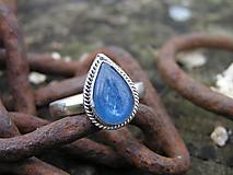 Prstene - Strieborny prsteň Ag 925 Kyanit - 11235614_