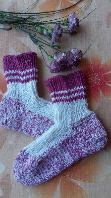 Obuv - ponožky veľ.37-38 - 11235923_