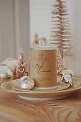 - Sójová sviečka 305g Vianočná kolekcia (Biele Vianoce) - 11237004_