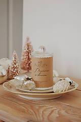 Svietidlá a sviečky - Sójová sviečka 305g Vianočná kolekcia (Pomaranč so škoricou) - 11237008_