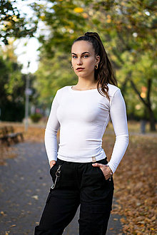 Tričká - Tričko MOCCA slim z organickej bavlny - 11235399_
