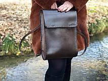 Batohy - Kožený ruksak NO.37 - 11236667_