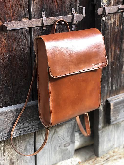 Kožený ruksak NO.37
