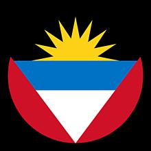 Odznaky/Brošne - Antigua a Barbuda vlajka - 11237466_